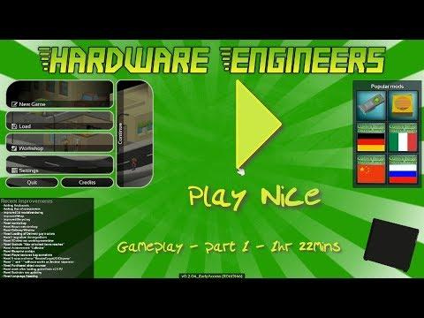 Embedded thumbnail for Hardware Engineers  -  Gameplay / Let's Play - 1hr 22mins - part1